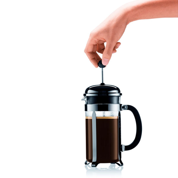 French Press Coffee Maker Cholesterol : Bodum Chambord French Press Coffee Maker Bean Bros Coffee